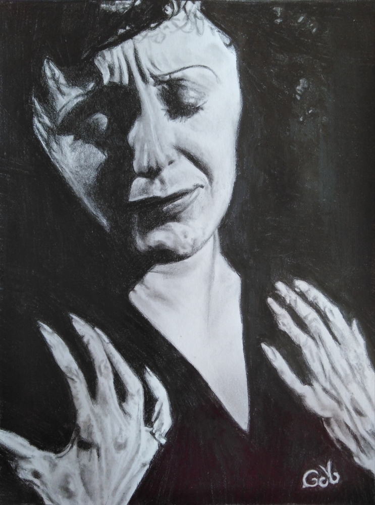 Edith Piaf by Gima10